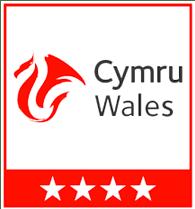 Visit Wales 4 star award
